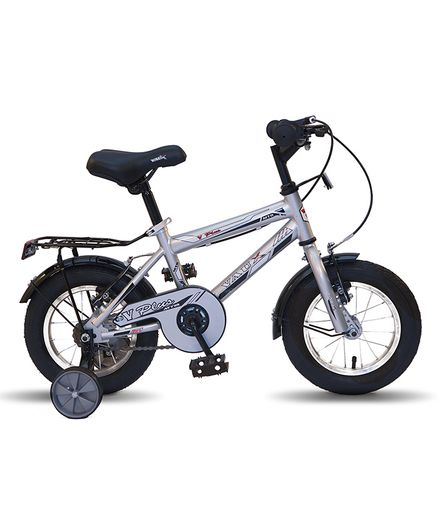 various colors 91479 f05a2 Vaux Plus MTB Bicycle With Training Wheels Silver 12 inches Online in  India, Buy at Best Price from Firstcry.com - 2180100