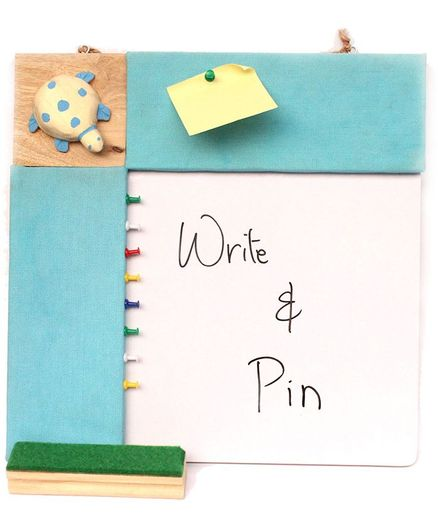 IVEI Pin Board & Whiteboard Combo Blue Online in India, Buy at Best Price  from Firstcry com - 2180259