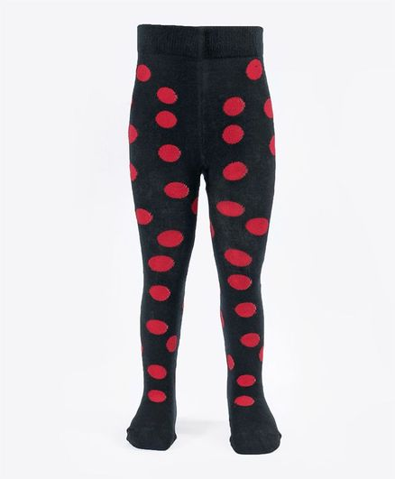 b030ca6f8 Buy Mustang Footed Tights Stockings Polka Dots Design Black for ...