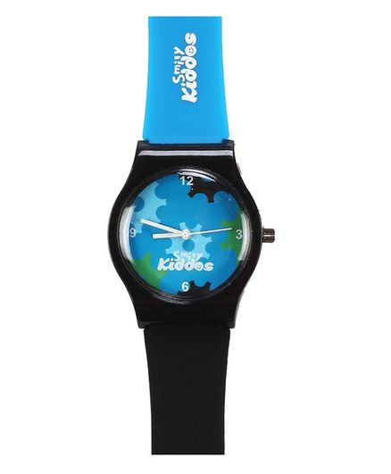 Smilykiddos Analog Kids Watch - Black