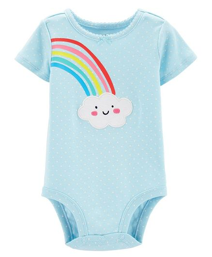 Carter/'s Girls 5 Pack Bodysuit Sets Newborn 3 6 9 12 Months Rainbows Hearts Sun