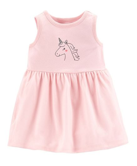 813a4a506a41 Buy Carters Unicorn Tutu Jersey Dress Pink for Girls (0-3 Months ...