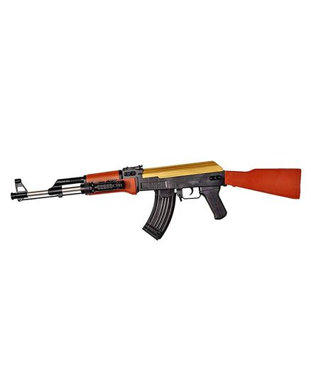 Toyshine High Grade AK47 Simulated BB Bullet Gun Toy Black Brown Online  India, Buy Toy Guns for (3-8 Years) at FirstCry com - 2207644
