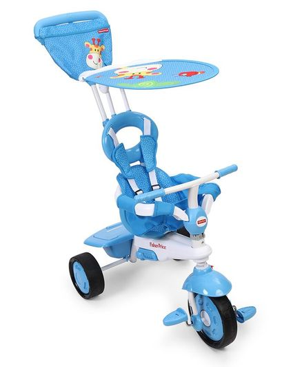 d2fcf8d9b8a Fisher Price 3 in 1 Stroll to Ride Trike Blue Online in India, Buy at Best  ...