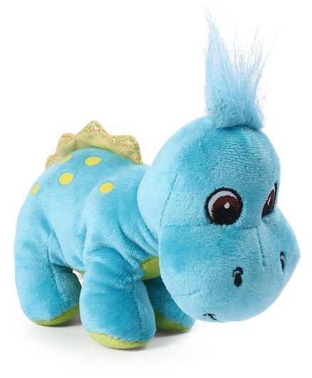 a9b8e65c10f1 My Baby Excels Dinosaur Plush Soft Toy Blue Height 19 cm Online ...