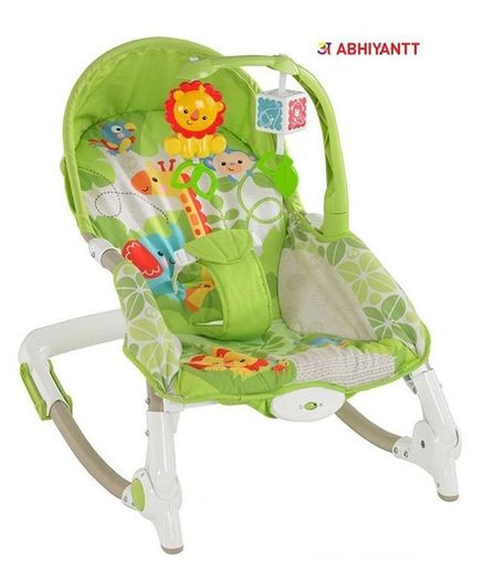 Abhiyantt Toddler Portable Recliner Rocker Chair