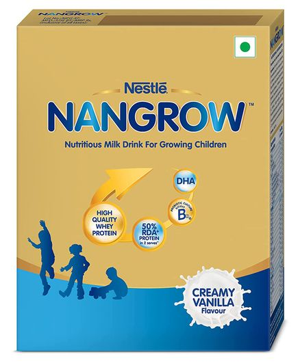 Nestle Nangrow Nutritious Milk Drink for Growing Children Creamy Vanilla - 400 gm