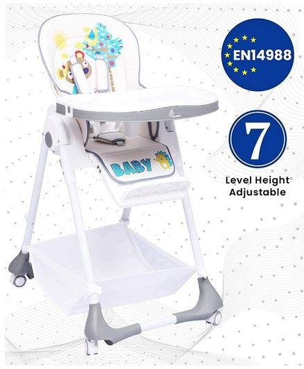 R for Rabbit Marshmallow Smart High Chair - Grey