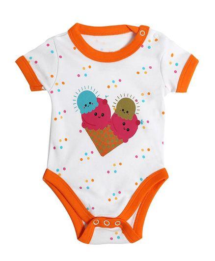 246b3564b Buy Morisons Baby Dreams Half Sleeves Onesie Ice Cream Print ...