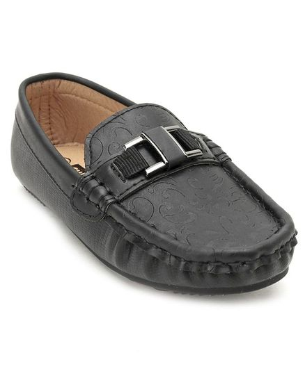 cb42e23f7bde Buy Cute Walk by Babyhug Loafers Shoes Black for Boys (2-2 Years ...