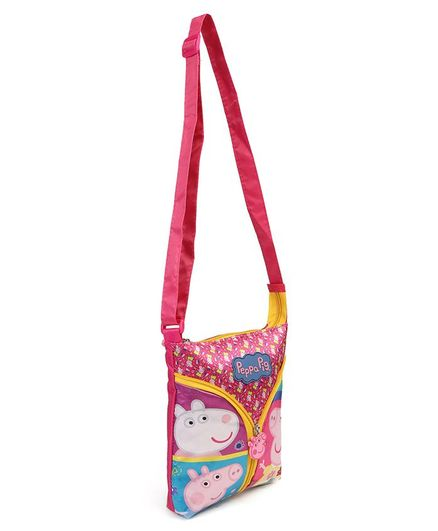 New Peppa Pig Purse with Sling Strap