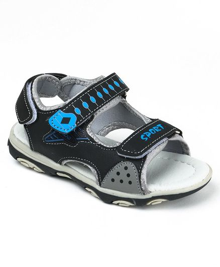 dff9be81f82f01 Buy Cute Walk By Babyhug Sandals Sport Print Blue Grey for Boys (6 ...