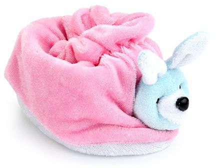 155ca49af Morisons Baby Dreams Rabbit Appliqued Baby Booties (Color May Vary)