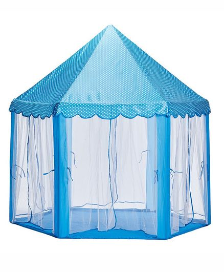 NHR Kids Playhouse Tent - Blue