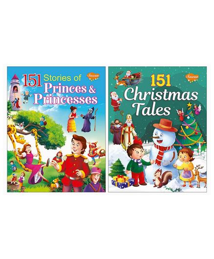 Prince And Princess & Christmas Tales Story Books Set of 2 English Online  in India, Buy at Best Price from Firstcry com - 2304160