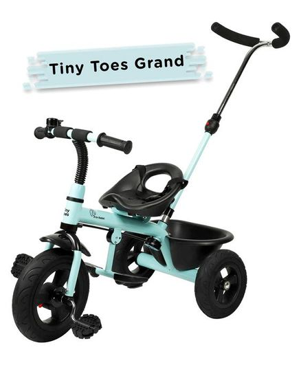 R for Rabbit Tiny Toes Grand The Smart Plug N Play Tricycle - Aqua Blue