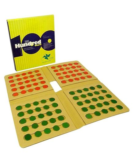 Vikalp India Teach Your Child Counting till 100 - Yellow