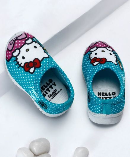 96a0cca39 Buy Disney Hello Kitty Polka Dotted Slip On Shoes Blue for Girls (8 ...