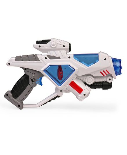Simba Space Defender Laser Gun White & Blue Online India, Buy Toy Guns for  (3-8 Years) at FirstCry com - 2361859