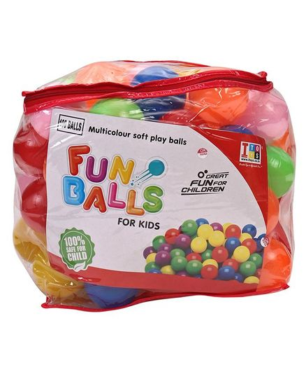 IToys Sr. Pool Balls Multi Colour - Pack of 100