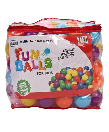 IToys Jr. Pool Balls Multi Colour - Pack of 100