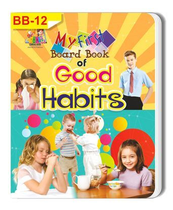 Good Habits Themed Board Book - English