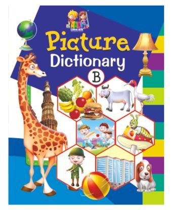 LKG Book  Picture Dictionary B - English