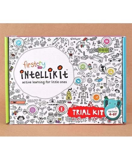FirstCry Intellikit Trial Box 4-6Y