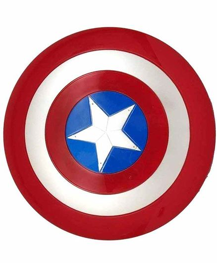 Planet of Toys Captain America Shield With Light And Sound - Red