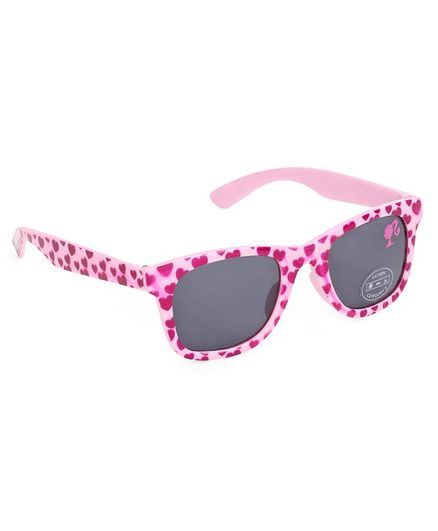 0ecc502cf2c Barbie Wayfarer Heart Print Sunglasses Pink for Girls (3-10 Years ...