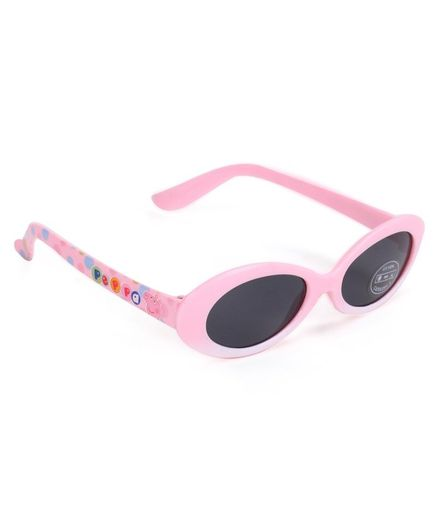 Peppa Pig Oval Shape Sunglasses Light Pink For Both 3 10 Years Online In India Buy At Firstcry Com 2420514