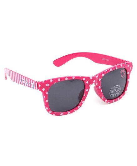 Peppa Pig Polka Dots Print Wayfarer Sunglasses Dark Pink For Both 3 10 Years Online In India Buy At Firstcry Com 2420517