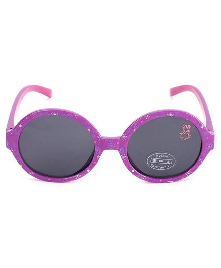 Peppa Pig Flower Print Round Sunglasses Purple For Girls 3 Months 1 Month Online In India Buy At Firstcry Com 2420520