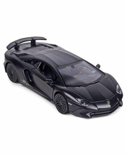 Rmz Lamborghini Aventador Lp 7504 Diecast Car Toy Black For 3 8