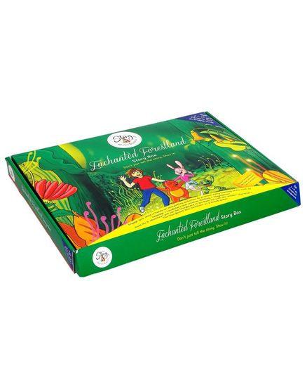 The Story Merchants Enchanted Forestland Story Box - English