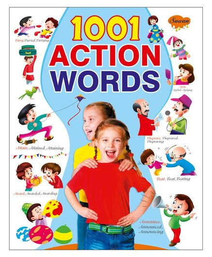 Sawan 1001 Action Words Picture Book - English