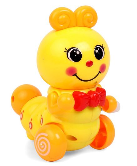 Bee Shaped Wind Up Toy - Yellow