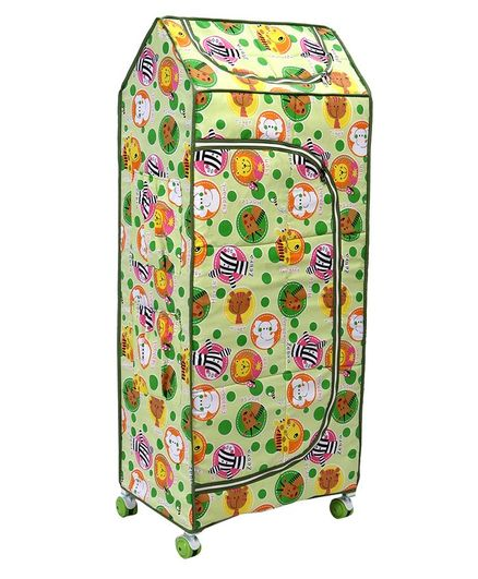 826d6a7bf3 Mothertouch Dx Storage Unit With Wheels Animal Print Green Online ...