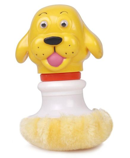 Ratnas Powder Puff Rattle - (Color May Vary)