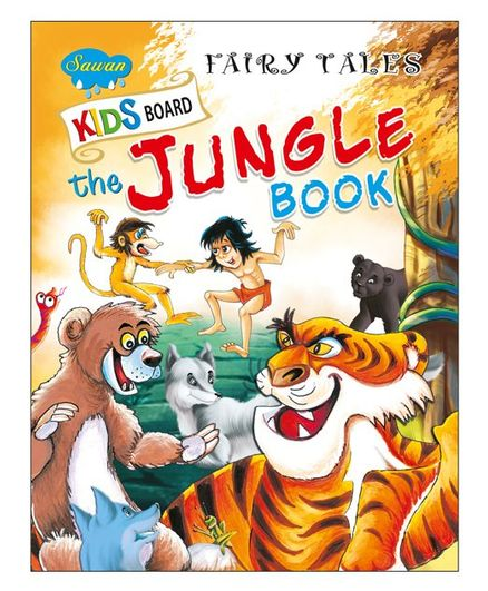 Kids Board Fairy Tales The Jungle Book - English