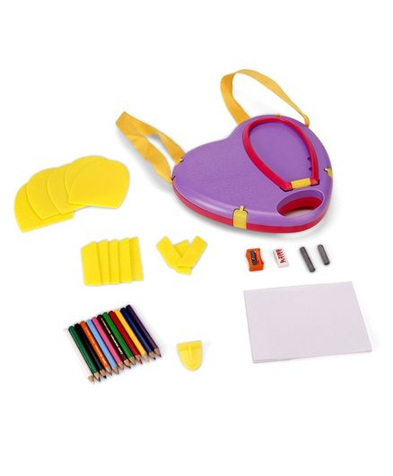 Funskool Heart of Fashion Kids Styling Kit - Purple