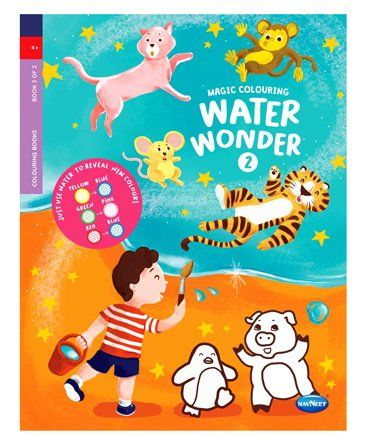 Water Wonder Book 2 English Online in India, Buy at Best Price from Firstcry.com - 2495025