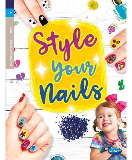 Nail Art Sticker Book - English