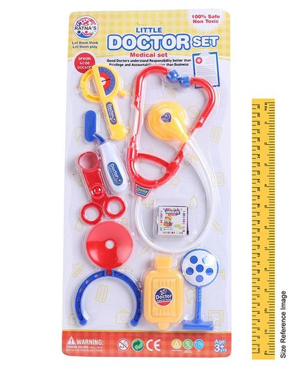 Ratnas Little Doctor Set Pack of 8 - Multicolor