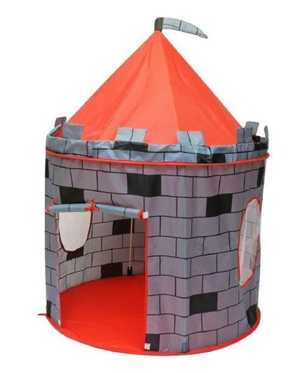 5d46196bd Webby Cubby Play Tent House Grey Red Online India