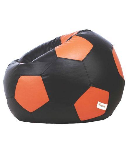 Phenomenal Sattva Football Shaped Bean Bag With Beans Xxl Black Online Inzonedesignstudio Interior Chair Design Inzonedesignstudiocom
