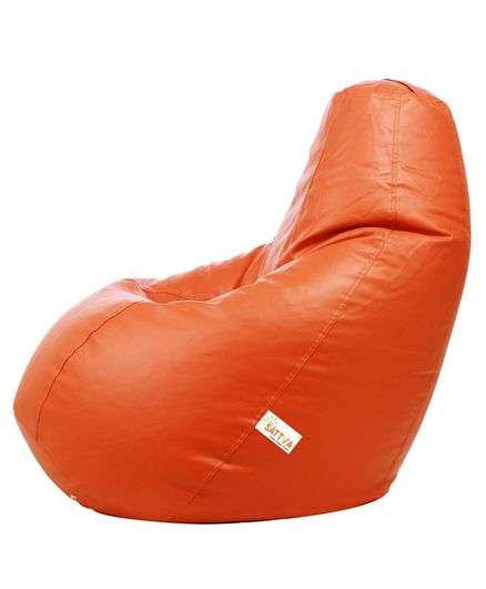 Enjoyable Sattva Classic Bean Bag Cover Without Beans Xxl Orange Online In India Buy At Best Price From Firstcry Com 2502028 Creativecarmelina Interior Chair Design Creativecarmelinacom
