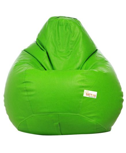 Surprising Sattva Classic Bean Bag Cover Without Beans Xxxl Neon Green Pabps2019 Chair Design Images Pabps2019Com