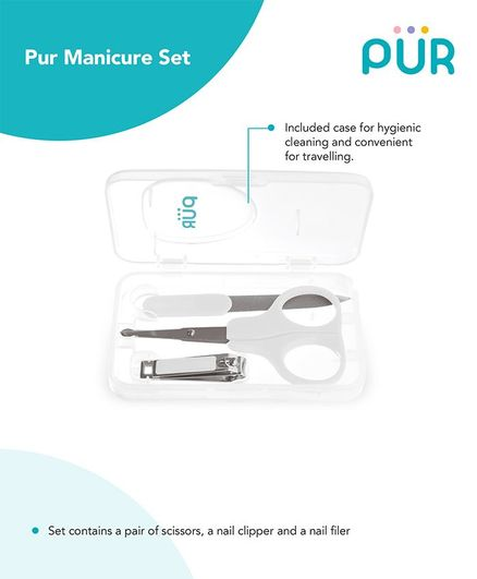 Pur Manicure Set - (Color may vary)