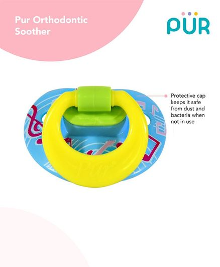 Pur Orthodontic Soother - Blue